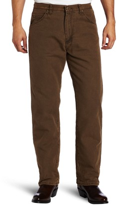 Wrangler Men's Rugged Wear Woodland Thermal Jean