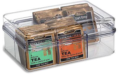 Container Store Tea Bag Storage Container
