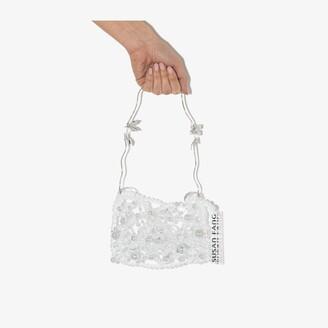 Susan Fang clear Bubble beaded mini bag