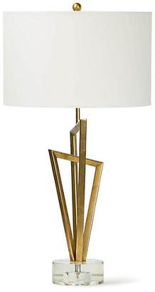 REGINA ANDREW Sydney Table Lamp - Gold Leaf