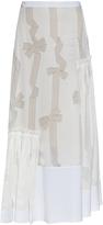 Stella McCartney Filippa devoré-bow print skirt