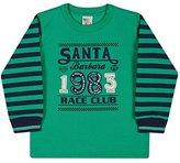 Toddler Boy Long Sleeve Shirt Little Boys Sweatshirt Pulla Bulla 1 Year - Green