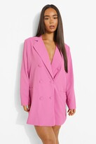 Thumbnail for your product : boohoo Oversized Tailored Blazer Dress