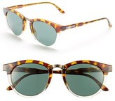 Smith Optics Women's 'Questa' 49Mm Cat Eye Sunglasses - Amber Tortoise/ Green