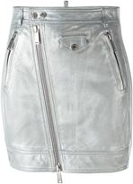DSQUARED2 metallic (Grey) skirt