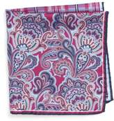Nordstrom 'Three Panel' Silk Pocket Square