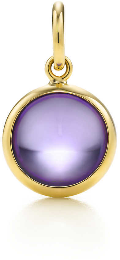 Tiffany & Co. Paloma Picasso®:Amethyst Dot Charm and Chain