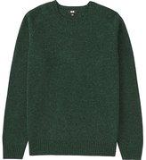 Uniqlo Men's Lambswool Crew Neck Sweater