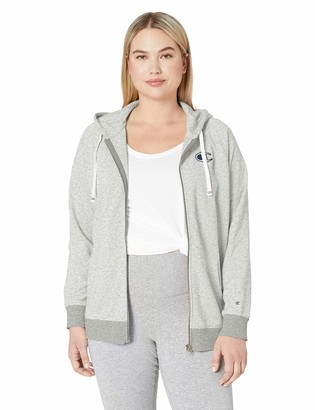 Champion Women's Plus Size Heritage French Terry Zip Hoodie