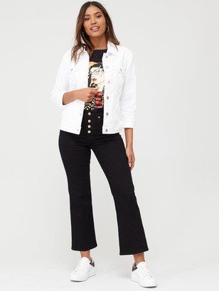 Very Denim Western Jacket - White
