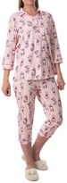 Calida Candyland Pajamas - Cotton Jersey, 3/4 Sleeve (For Women)