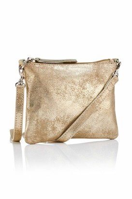 Hill & How Women's Leather Crossbody Pouch