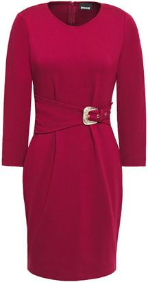 Just Cavalli Belted Jersey Mini Dress