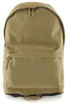 Topman Men's Faux Suede Backpack - Green
