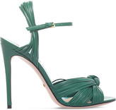 Gucci Allie Leather Knotted Strappy Sandal