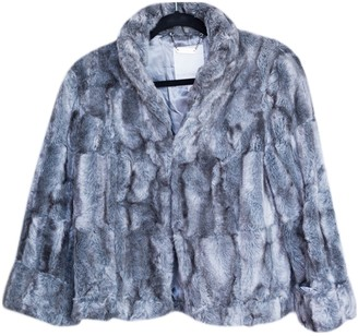 John Rocha Grey Faux fur Jacket for Women