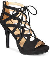 Report Laxy Lace-Up Platform Sandals Women's Shoes