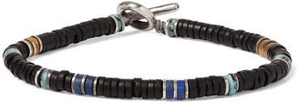 M. Cohen Sterling Silver Multi-Stone Beaded Bracelet