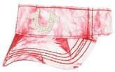 True Religion Brand Jeans Marble Dye Visor