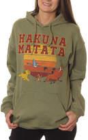 Asstd National Brand Lion King Juniors' Hakuna Matata Sunset Pullover Graphic Hoodie