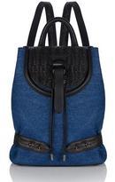 Meli-Melo Backpack Mini Blue Denim