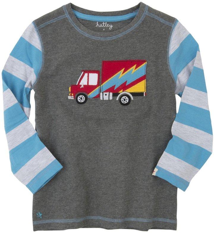 Hatley Graphic Tee (Toddler/Kid) - Big Rig Trucks-6