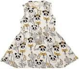 Mini Rodini Panda Printed Jersey Dress
