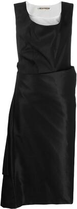 Comme des Garcons Pre-Owned 1995 draped midi dress