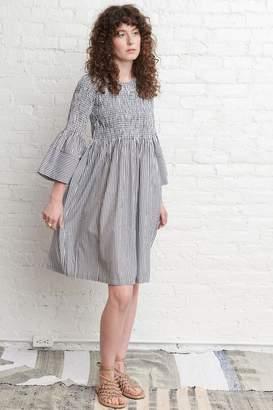 M.PATMOS Stella Pinstripe Dress