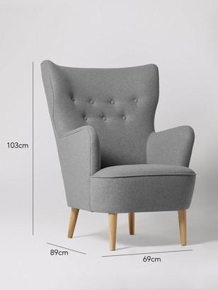 Swoon Ludwig Fabric Armchair