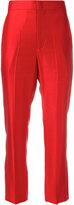 Isabel Marant tailored trousers - women - Cotton/Ramie/Viscose - 38