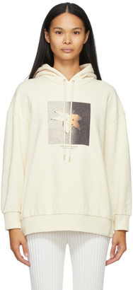 Stella McCartney Off-White Faces In Places Hoodie