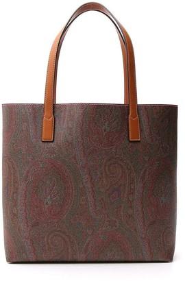 Etro Paisley Printed Tote Bag