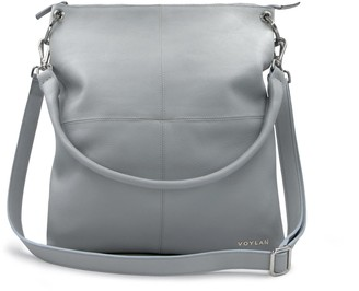 Voylan Sydney Messenger In Grey