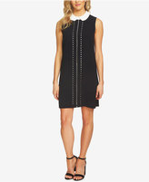 CeCe Eyelet-Trim Dress