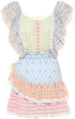LoveShackFancy Leon cotton minidress