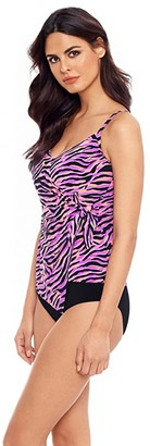 Magicsuit Wild Life Chloe Tankini (Black/Multi) Women's Swimwear