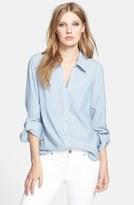 Joie Women's Pocket Cotton Shirt