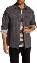 AG Jeans Peppered Charcoal Soft Cotton Jacket