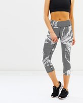 DKNY Sonic Print Cropped Tights