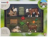 Schleich World of Nature Farm Life Children's Zoo Set