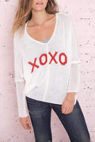 Wooden Ships Xoxo Cotton Sweater