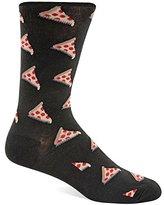 Hot Sox Men's Pizza Crew Sock