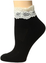 Bootights Performance Lace Sock Women's Crew Cut Socks Shoes