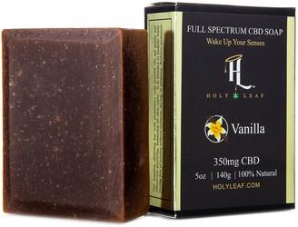 Holy Leaf Cbd Infused Vanilla Lotion, Soap & Bath Bomb
