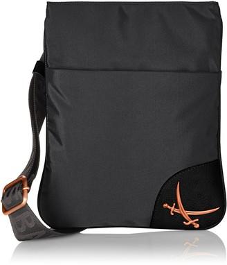 Sansibar Women B-842 PO Cross-body Bag Black Size: 24x27x1