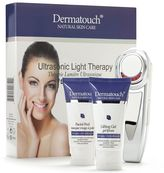 Dermatouch Ultrasonic Light Therapy Kit Plus Lifting Gel & Facial Peel
