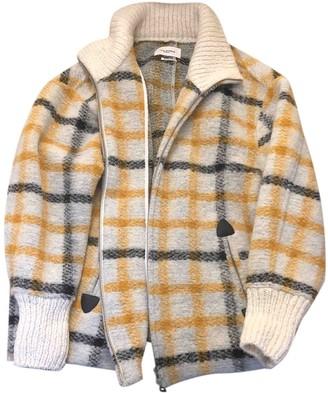 Etoile Isabel Marant Yellow Wool Leather jackets