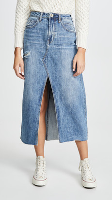 One Teaspoon Rocko Long Length Skirt