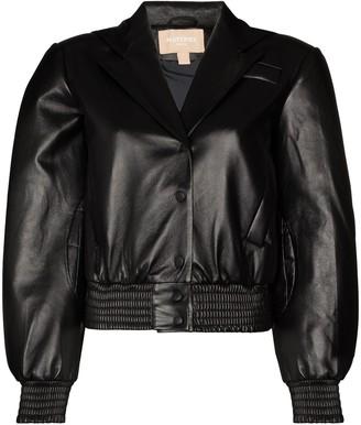 MATÉRIEL Quilted Faux Leather Jacket